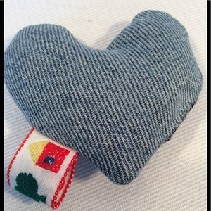 💜 3 for $15 Hand made denim squeaker dog toy